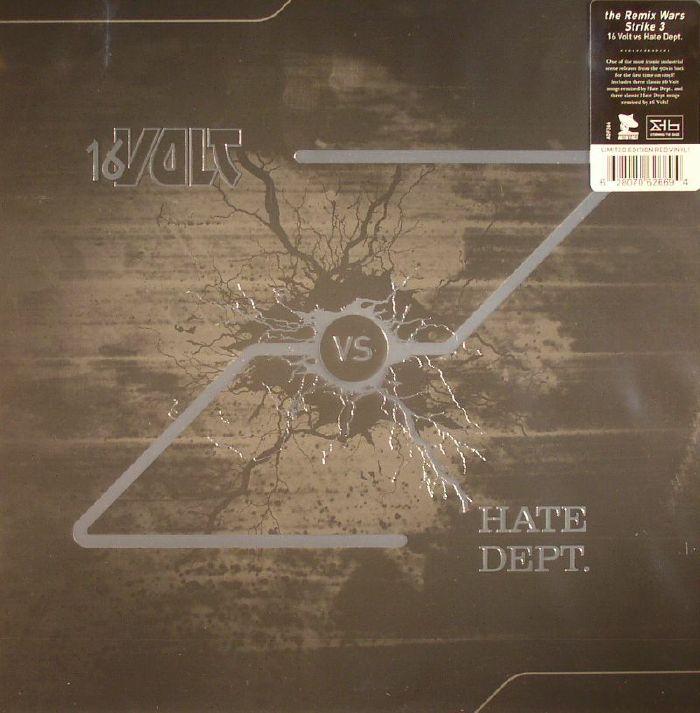 16 VOLT vs HATE DEPT - The Remix Wars Strike 3