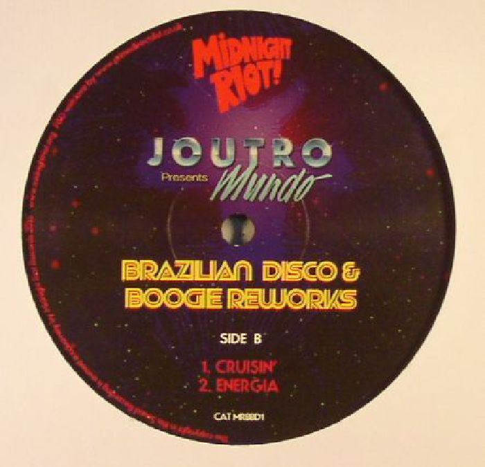 JOUTRO presents MUNDO - Brazilian Disco & Boogie Reworks