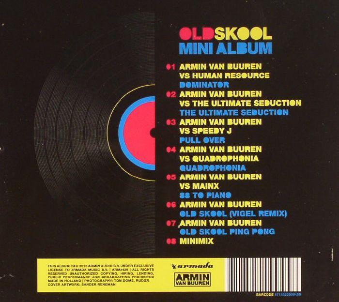 VAN BUUREN, Armin - Oldskool