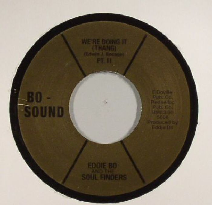 BO, Eddie/THE SOUL FINDERS - We're Doing It (Thang)