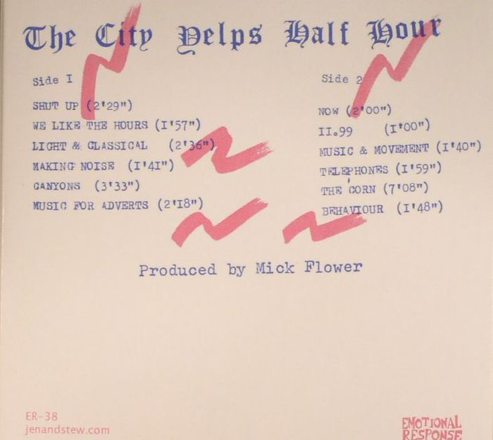 CITY YELPS, The - The City Yelps Half Hour