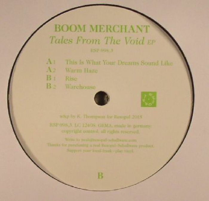 BOOM MERCHANT - Tales From The Void EP