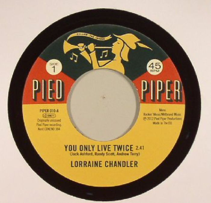CHANDLER, Lorraine/THE PIED PIPER PLAYERS - You Only Live Twice