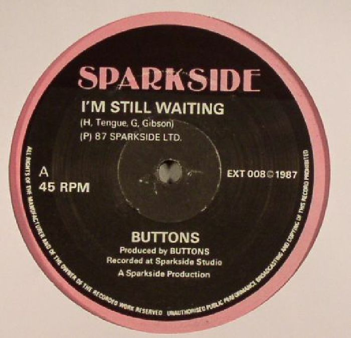 BUTTONS/HORSEMAN - I'm Still Waiting (warehouse find: slight sleeve wear)