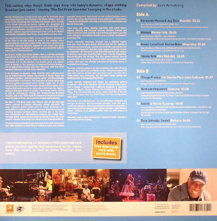 ARMSTRONG, John/VARIOUS - The Rough Guide To Brazilian Jazz