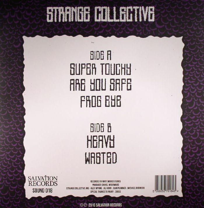 STRANGE COLLECTIVE - Super Touchy