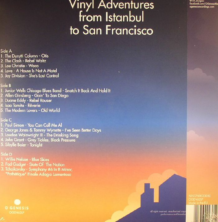 BURGESS, Tim/VARIOUS - Vinyl Adventures From Istanbul To San Francisco