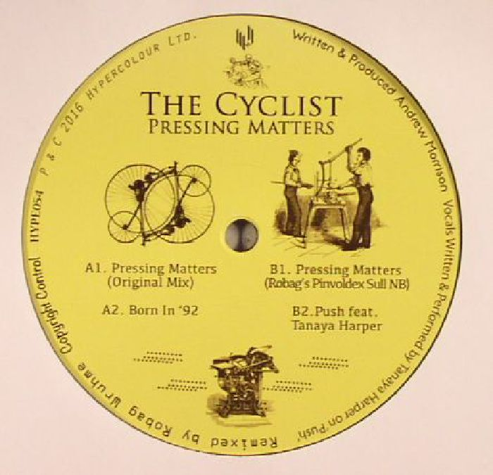 CYCLIST, The - Pressing Matters