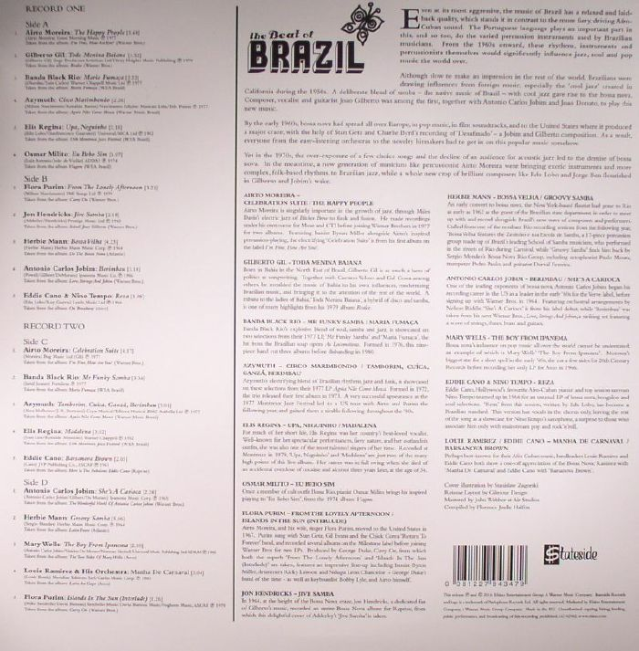 VARIOUS - The Beat Of Brazil: Brazilian Grooves From The Warner Vaults