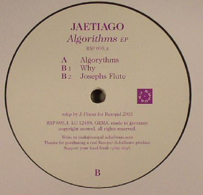 JAETIAGO - Algorithms EP
