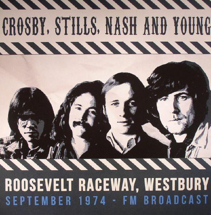 CROSBY STILLS NASH & YOUNG - Roosevelt Raceway Westbury September 1974 FM Broadcast