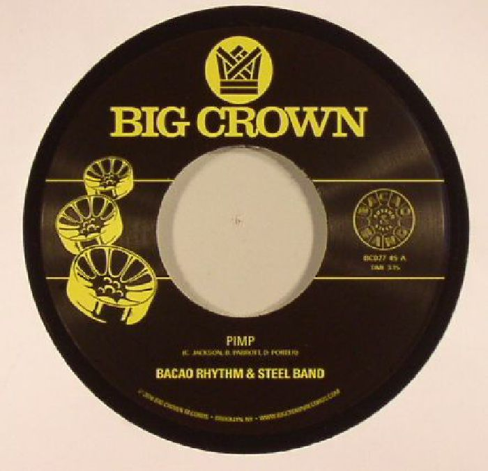 BACAO RHYTHM & STEEL BAND - Pimp