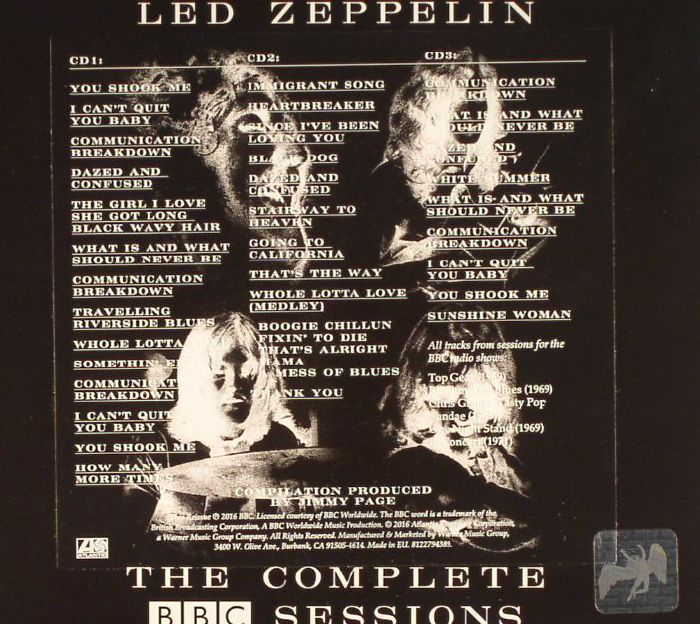 led zeppelin the complete bbc sessions vinyl at juno records. Black Bedroom Furniture Sets. Home Design Ideas