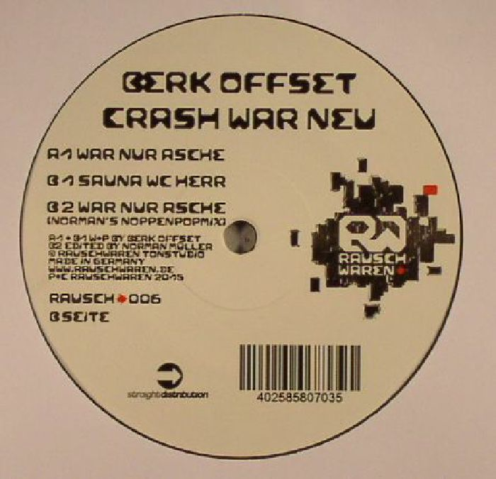 BERK OFFSET - Crash War Neu