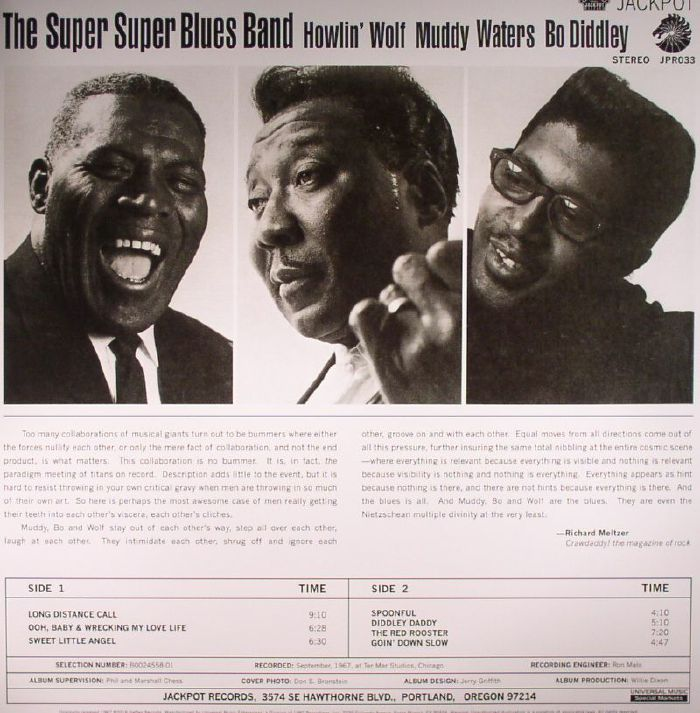 HOWLIN WOLF/MUDDY WATERS/BO DIDDLEY - The Super Super Blues Band
