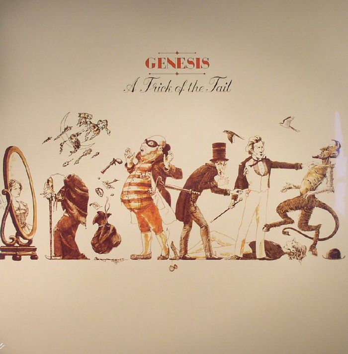 GENESIS - A Trick Of The Tail (reissue)