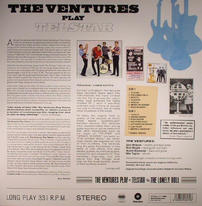 VENTURES, The - The Ventures Play Telstar