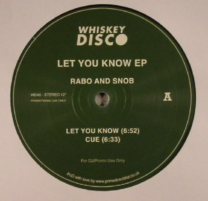 RABO & SNOB - Let You Know EP