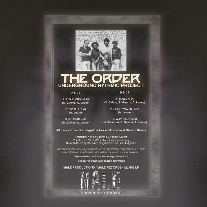 ORDER, The - Underground Rythmic Project