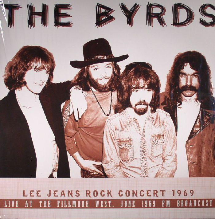 BYRDS, The - Lee Jean Rock Concert 1969: Live At The Fillmore West FM Broadcast