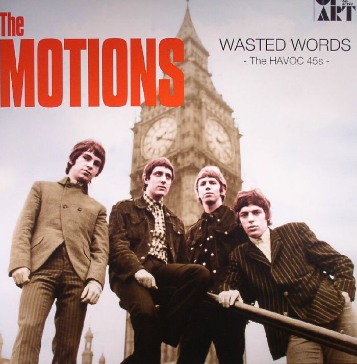 MOTIONS, The - Wasted Words: The HAVOC 45s (remastered)