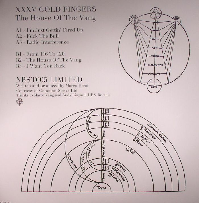 XXXV GOLD FINGERS - The House Of The Vang