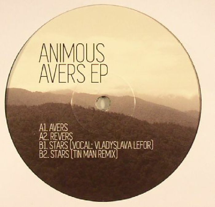 ANIMOUS - Avers EP