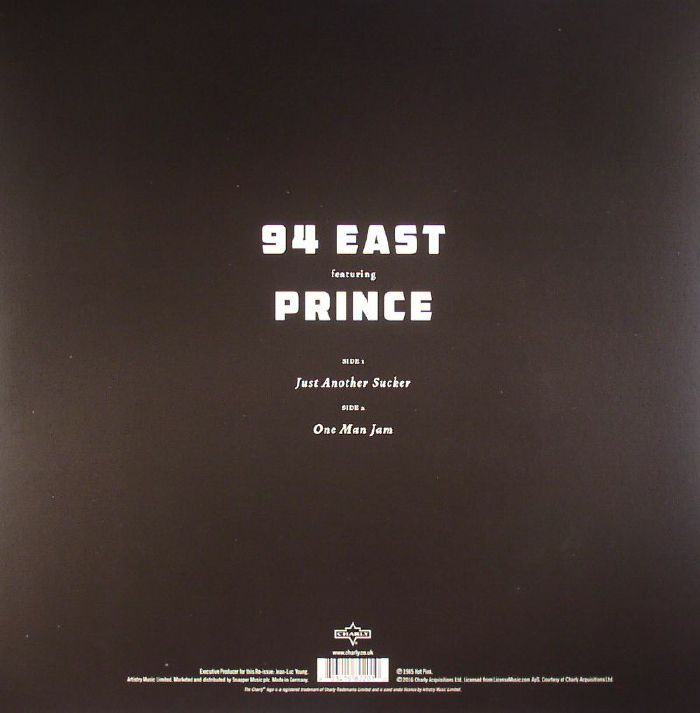 94 East Feat Prince Just Another Sucker One Man Jam Vinyl