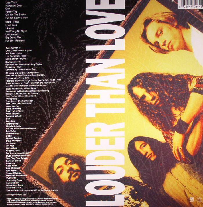 SOUNDGARDEN Louder Than Love vinyl at Juno Records.