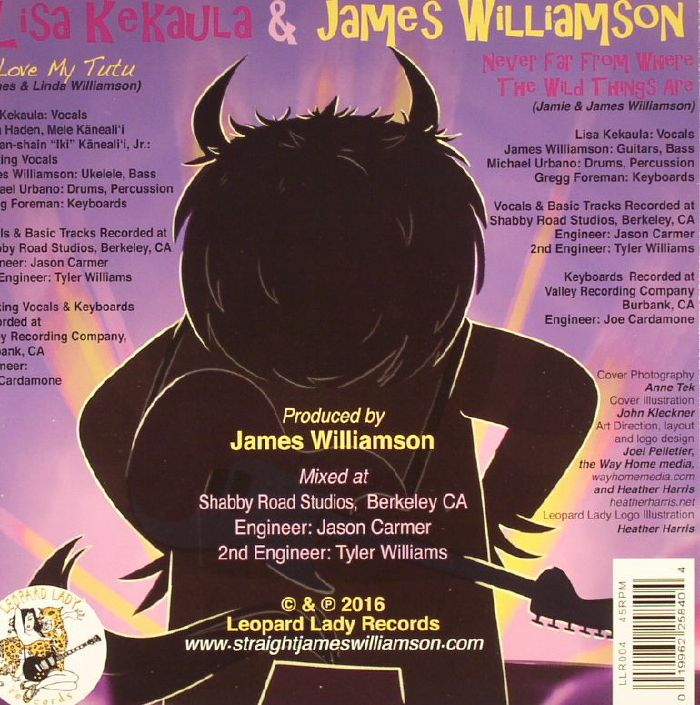 KEKAULA, Lisa/JAMES WILLIAMSON - I Love My Tutu