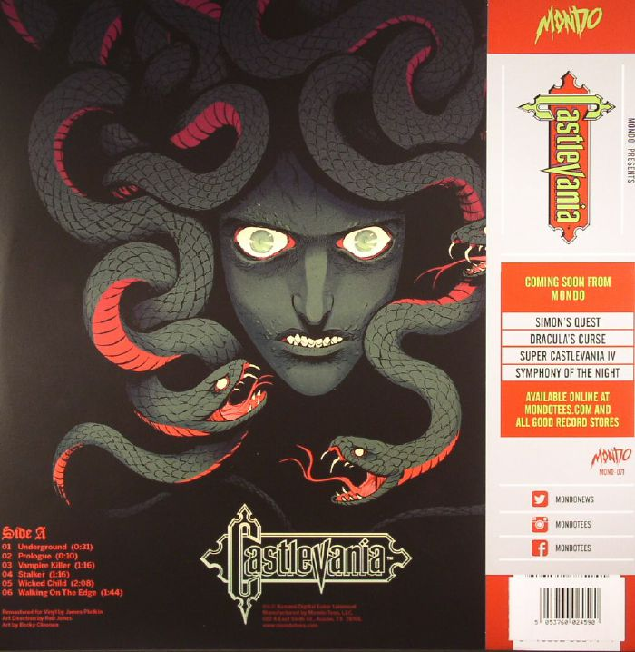 KONAMI KUKEIHA CLUB Castlevania (Soundtrack) vinyl at Juno Records