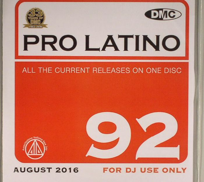 VARIOUS - DMC Pro Latino 92: August 2016 (Strictly DJ Only)