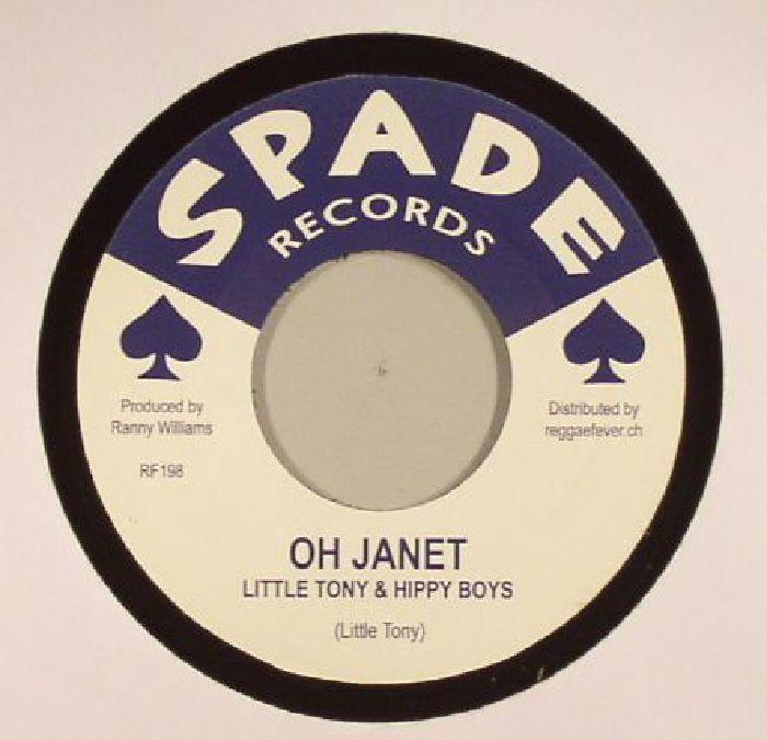 LITTLE TONY/HIPPY BOYS - Oh Janet