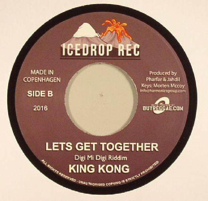 STEPPER, Reggie/KING KONG - Go Tell It