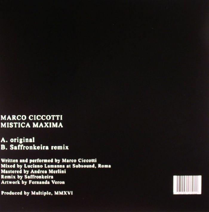 CICCOTTI, Marco - Mistica Maxima