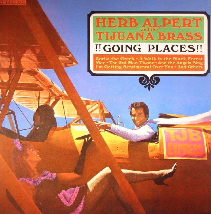 ALPERT, Herb & THE TIJUANA BRASS - Going Places