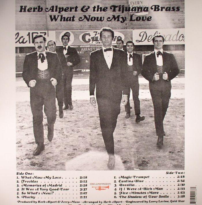 ALPERT, Herb & THE TIJUANA BRASS - What Now My Love