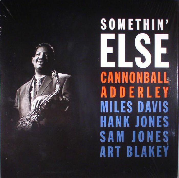 ADDERLEY, Cannonball - Something Else (reissue)