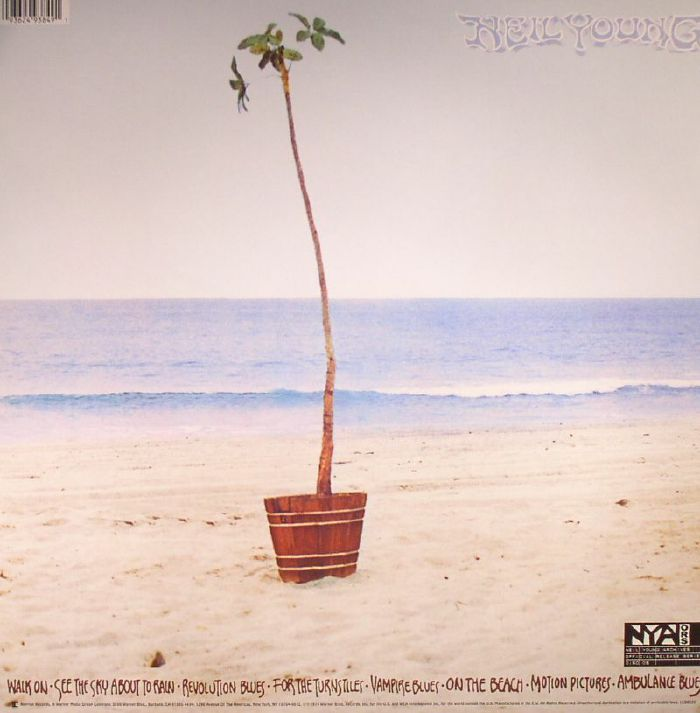 Neil Young On The Beach Vinyl At Juno Records
