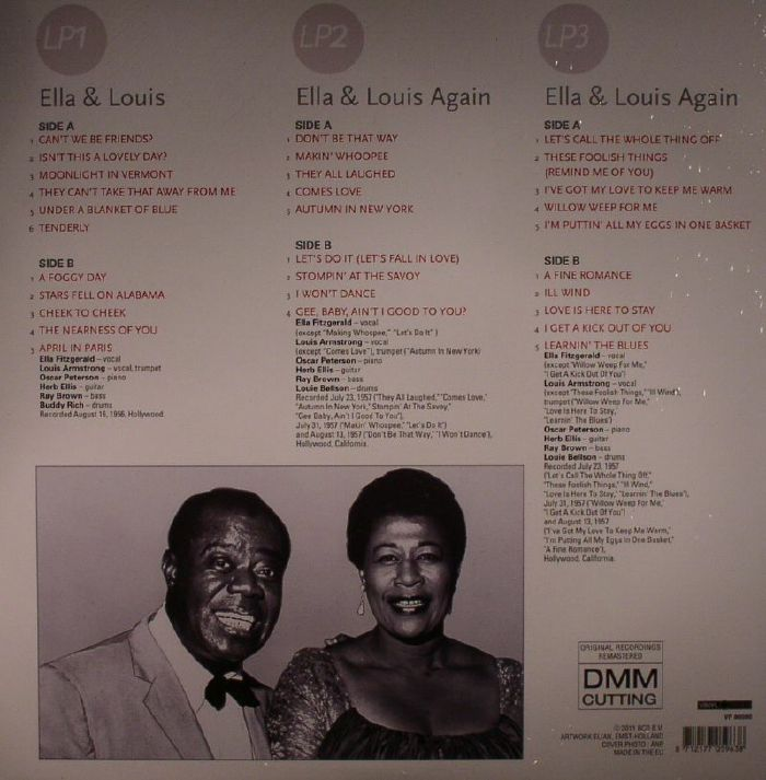 Ella Fitzgerald Louis Armstrong Classic Album Collection