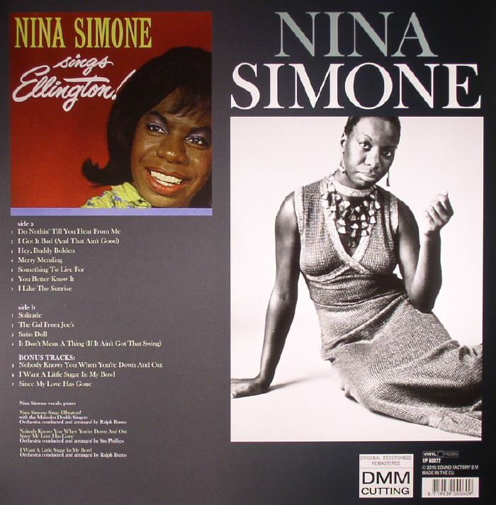SIMONE, Nina - Nina Simone Sings Ellington!