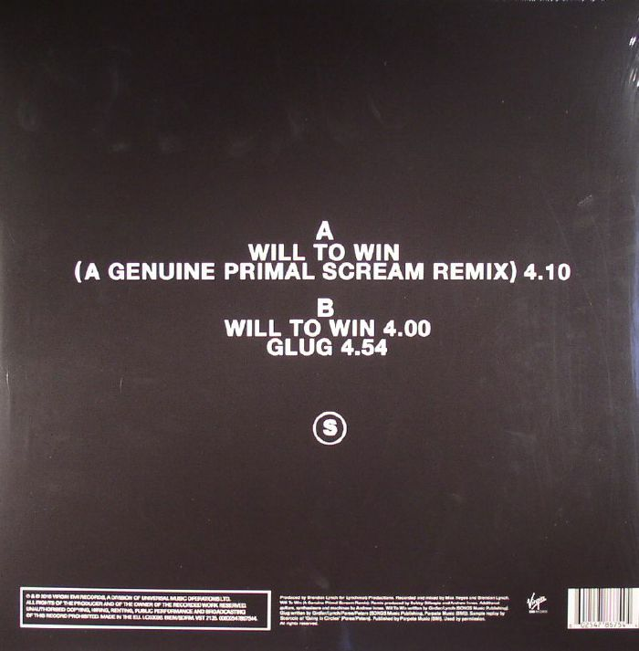 PRIMAL SCREAM vs SOCIETY - Will To Win