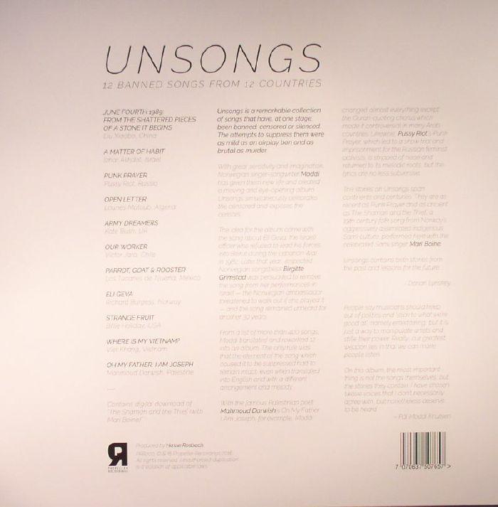 MODDI - Unsongs