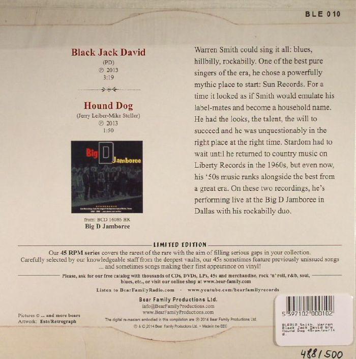 SMITH, Warren - Black Jack David