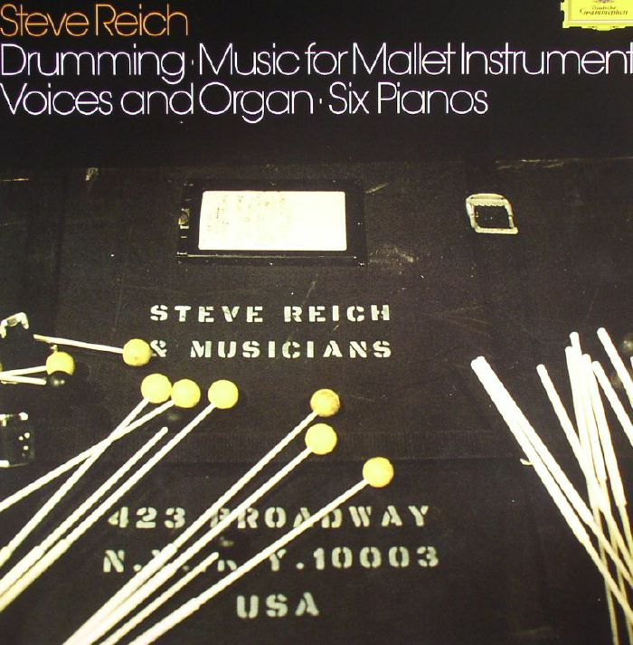 REICH, Steve - Drumming Music For Mallet Instruments Voices & Organ Six Pianos