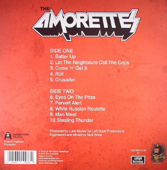 AMORETTES, The - White Hot Heat
