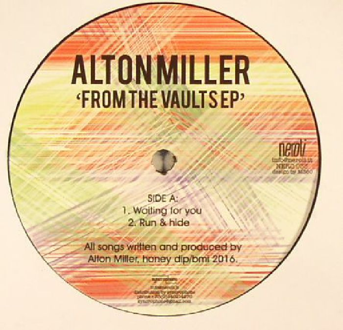 MILLER, Alton - From The Vaults EP
