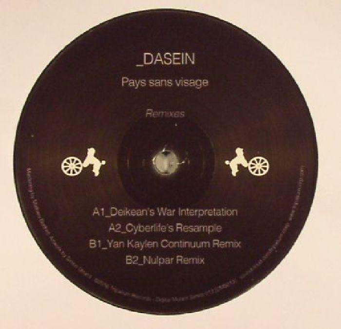 DASEIN - Pays Sans Visage Remixes