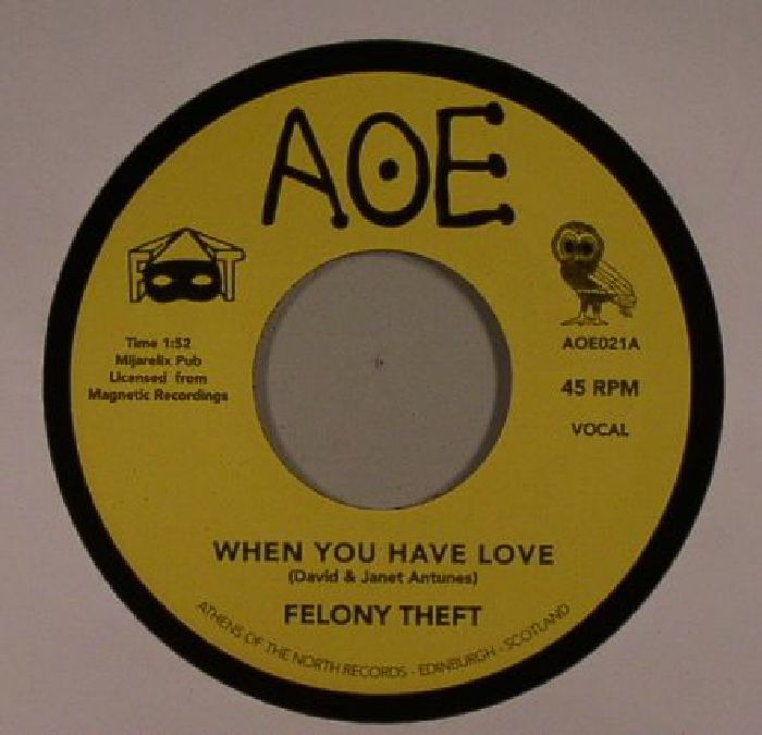 FELONY THEFT - When You Have Love