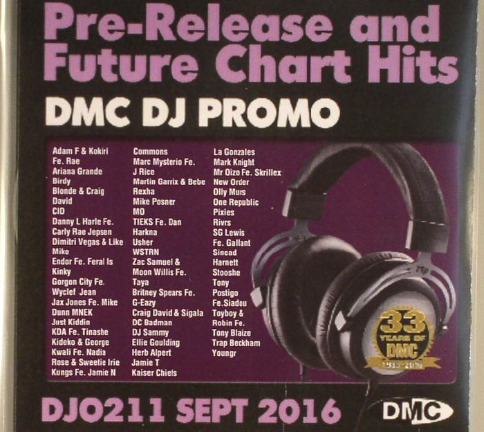 VARIOUS - DJ Promo September 2016: Pre Release & Future Chart Hits (Strictly DJ Use Only)